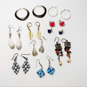 10 Pair Earrings Set J67